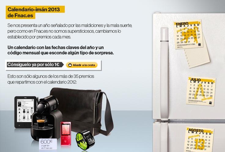 Calendario-Imán 2013 Fnac