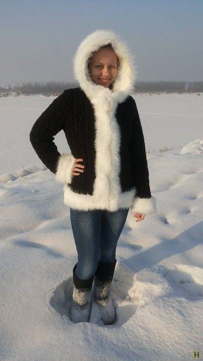 Куртка с капюшоном-4