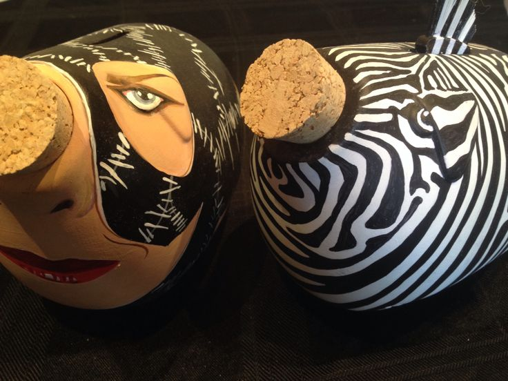 #CatWomanPig and #ZebraPig soon to be auctioned for our charity launch