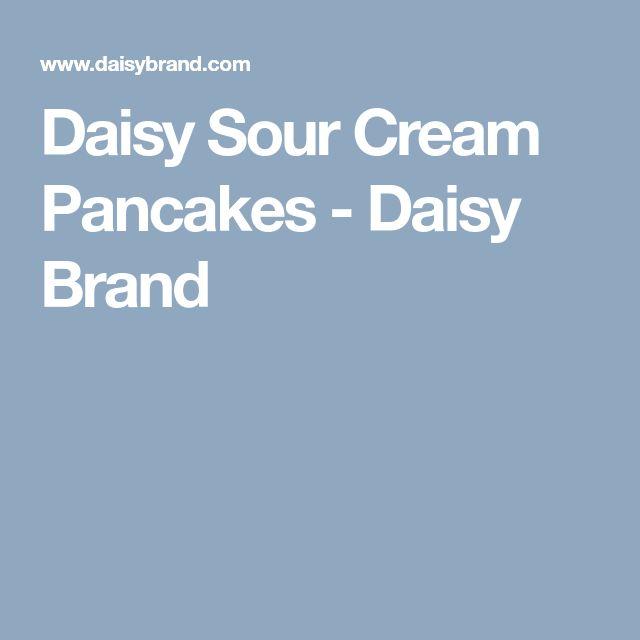 Daisy Sour Cream Pancakes - Daisy Brand