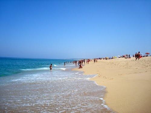Praia da Lagoa de Santo André, Santiago do cacem, Portugal!