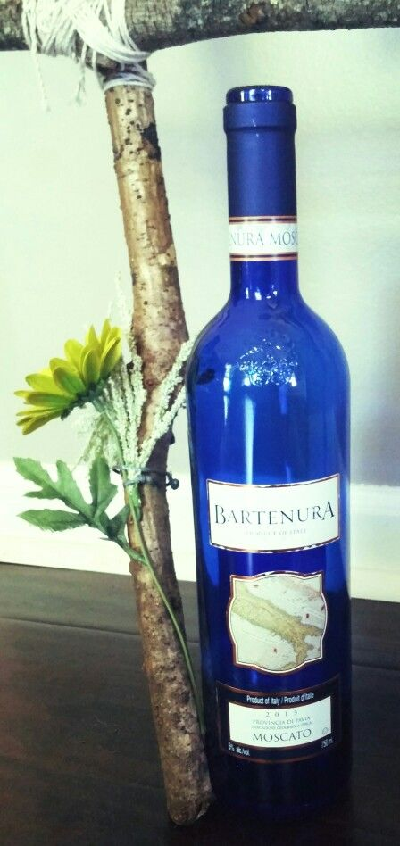 Moscato bottle decor, blue bottle decor, wine bottle found at Drink.Drunk.Decor https://www.etsy.com/listing/232097064/moscato-blue-wine-bottle-light