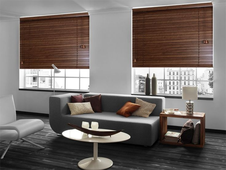 Wooden venetian blinds are a perfect choice of window covering for a Zen style of décor, this style of blind having been used for generations in Asian décor. From £40. Online at http://www.polesandblinds.com/sherwood-red-alder-wooden-venetian-blind/ #fengshui #interiordesign