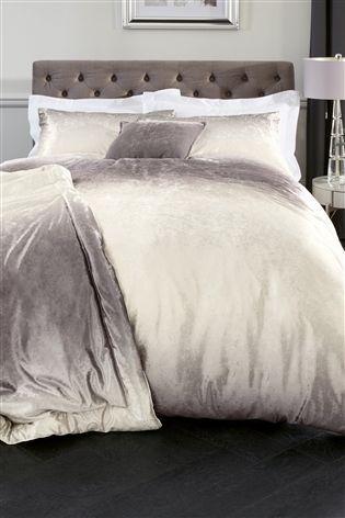 Buy Ombre Velvet Bed Set from the Next UK online shop