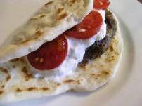 Griekse Burger (Suzuki), Dip En Wrap recept | Smulweb.nl