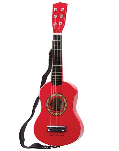 Kindergitarre in rot