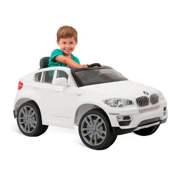 Carro Eletrico Bmw X6 Branco Controle Remoto Bandeirante Em 2020 Bmw X6 Carro Eletrico Infantil E Carro Eletrico Bmw