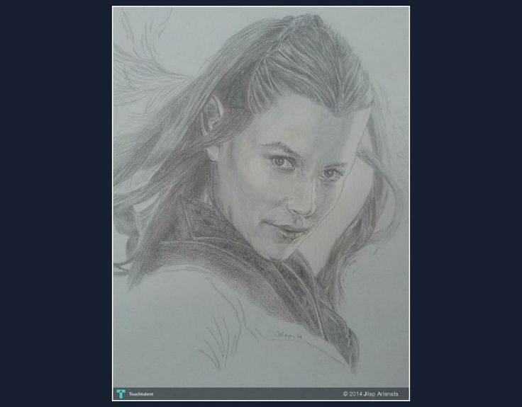 TAURIEL #Creative #Art #Sketching @Touchtalent.com.com