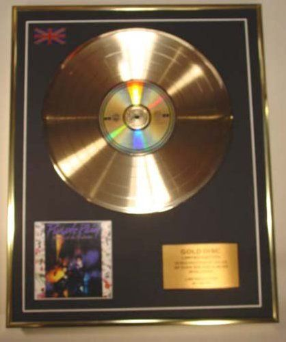 PRINCE/Cd Gold Disc Record Limited Edition/PURPLE RAIN