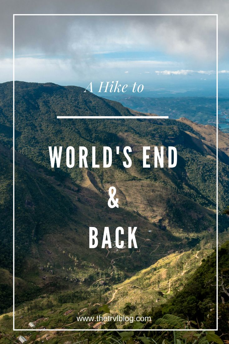 A definitive guide to hiking to World's End and back. Sri Lanka's Hill Country offers some special hikes and World's End is up there with the best, not to mention the views! Click on the article link to find out more and read what it's really like to hike to the end of the world and back.
