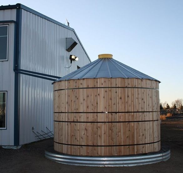 Rainflo 4500 Gallon Corrugated Steel Tank Rainwater Harvesting Package Rainwater Collection And Stormwater Management Rain Water Collection Water Storage Tanks Rainwater Harvesting