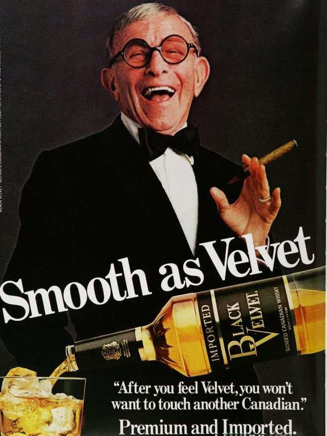 Vintage Alcohol Ads of the 1980s -- Not beer but how can we forget this man.