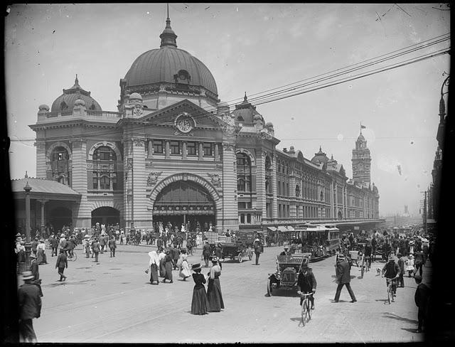 flinders st 1912