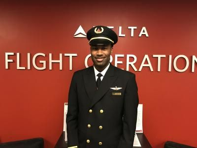 DELTA, PEOPLE & CULTURE From flight camp to first officer: 'I've reached my dream airline' By Rachel Solomon • posted Feb. 16, 2017 11:05 am