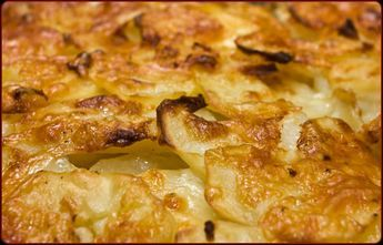Cast Iron Scalloped Potatoes - Traeger Grill Recipes