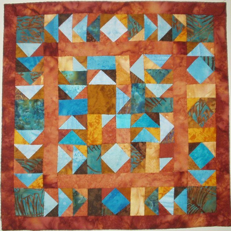 Quiltatelier Janny van der Kloet,  Korak patchwork