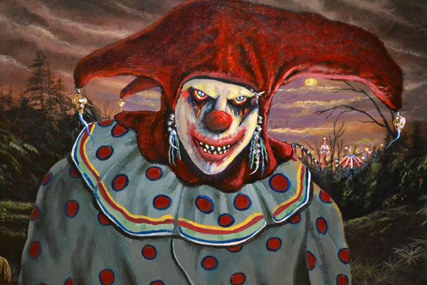 halloween clowns | Halloween Party and Evil Clown Traveling Carnival Exhibit, Saturday ...