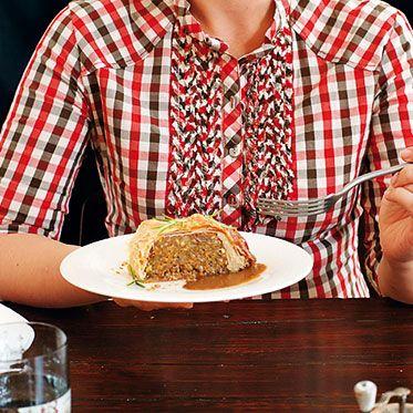 Linsenbraten im Blätterteig Rezept | Küchengötter