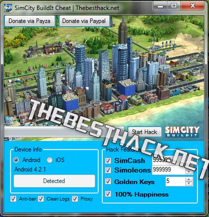 SimCity Buildit Hack Tool, Cheat Egnine Software  Hello to you today on my blog. I present to you a very good game SimCity Buildit on android and iOS devices. The game is excellent , I received a lot of requests for the establishment of a hack tool for this game.   #Android SimCity Buildit Hack #Cheat SimCity Buildit #city #Hack SimCity Buildit #Hack SimCity Buildit Android #Hack SimCity Buildit iOS #how to cheat SimCity Buildit #how to hack SimCity Buildit #iOS SimCity Bu