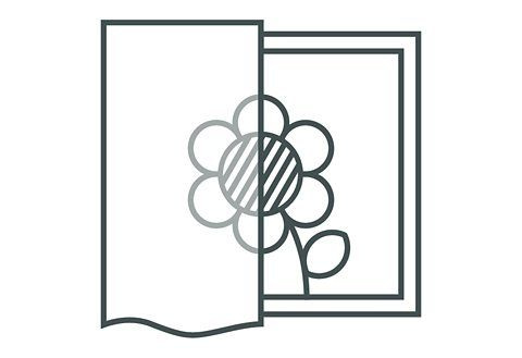Fensterbild »Fensterbild Blüten« (1 Stück)