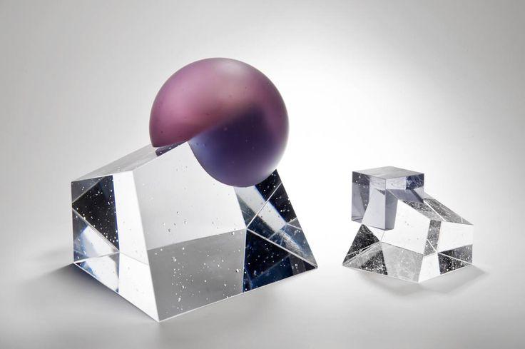Heike Brachlow Axiom of Choice, 2013 – 24 cm x 23 cm x 22 cm & Axiom XI, 2013 – 11.5 cm x 12 cm x 11.5 cm