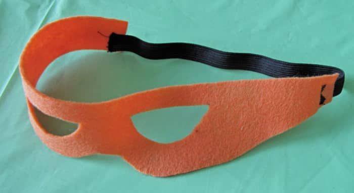 DIY Ninja Turtle Mask using Felt