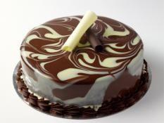 "12"" White & Dark Mousse Cake"