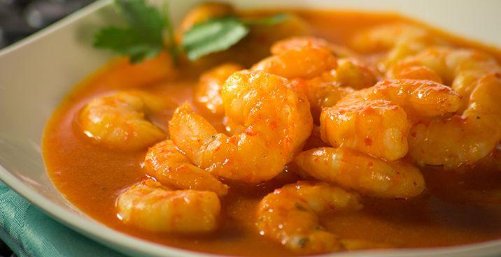 ¡Tenemos una receta de camarones en salsa roja que te va a encantar! Ponle sabor a tus platillos con Knorr® Tomate Sazonador de Tomate.