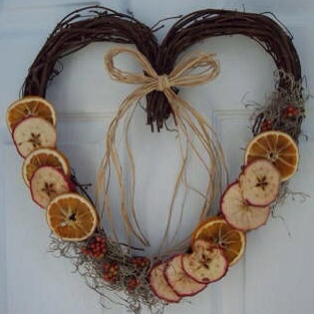 Dried Fruit Wreath