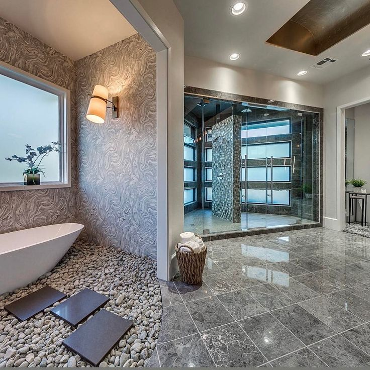pictures to hang in master bathroom%0A   Holle Molle this master bathroom has me drooling