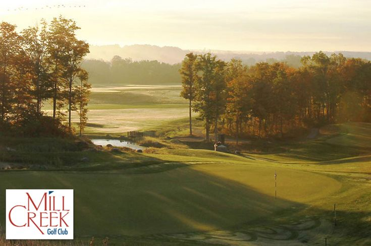 $15 for 18 Holes with Cart and Range Balls at Mill Creek Golf Club in Churchville near Rochester ($53 Value. Expires July 1, 2018!)