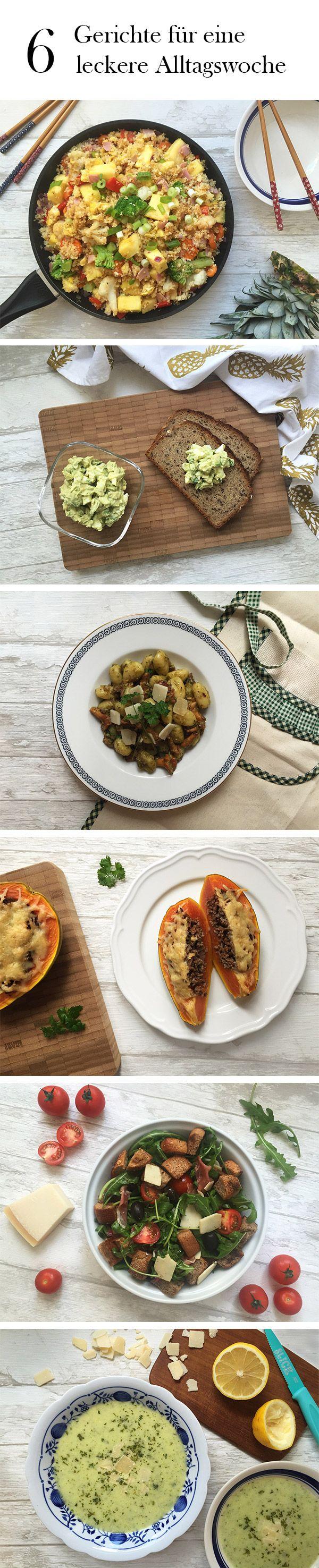 """Der Wochenplan """"Leckere Arbeitswoche"""" ist ein wahrer Schlemmerplan. In dieser Woche gibt es von asiatischer Fusionküche und exotische Früchten alles bis hin zu italienischen Köstlichkeiten."""