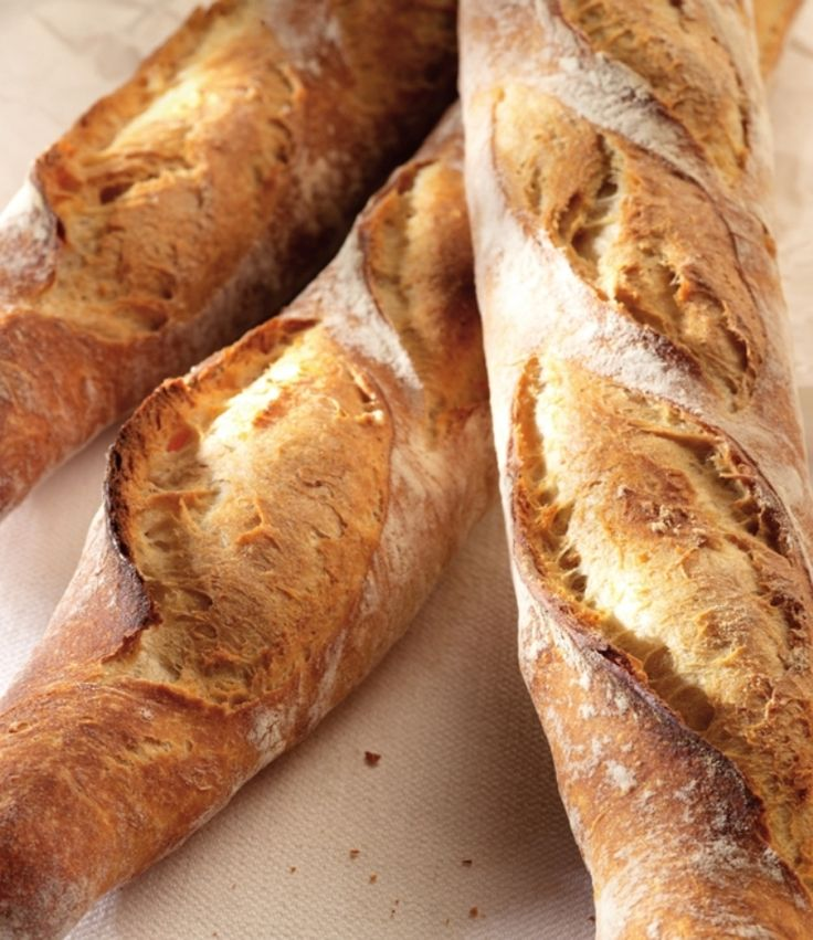Echte franse baguette http://njam.tv/recepten/echte-franse-baguette