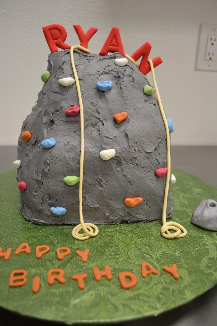 Bake You Happy~ WINNERS OF CUPCAKE WARS!!!!!!!!!: Rock Climbing Wall