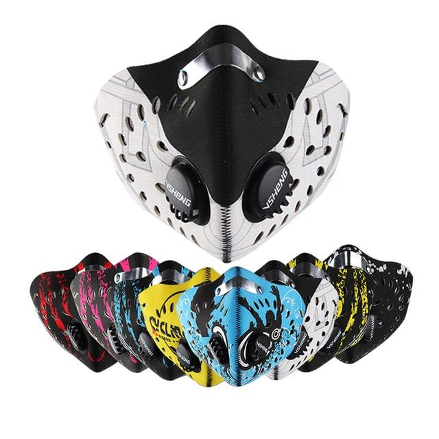 Sport Dust Filter Cycling Face Mask Half Face Protective Mask Cool