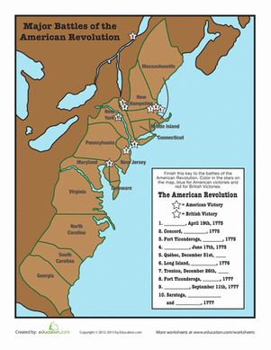 an overview of the major wars of the american revolution Find out more about the american revolution, including milestone battles, events and generals that won our country's independence get all the facts on history com.