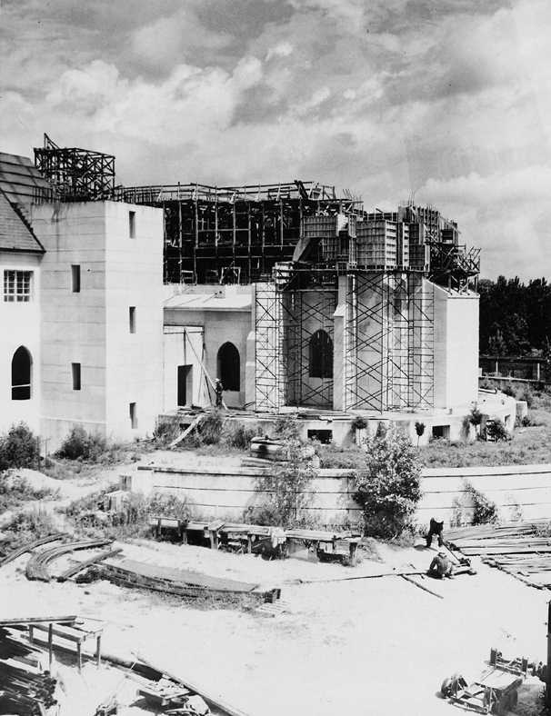 Construction of the Monastery of the Holy Spirit #Conyers #Georgia #Monastery #Tourism
