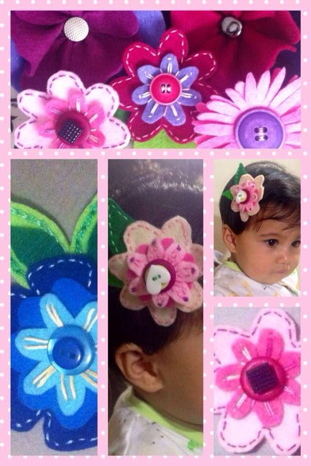 Hebillas flores