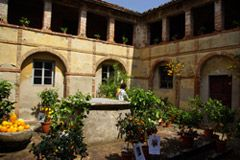 The secret cloister Buggiano the Village of citrus