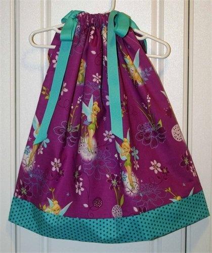Tinker Bell Pillow Case Dress.. I just bought this fabric. Pillowcase DressesFun ProjectsSewing ... & 169 best pillow case dresses images on Pinterest | Pillow case ... pillowsntoast.com