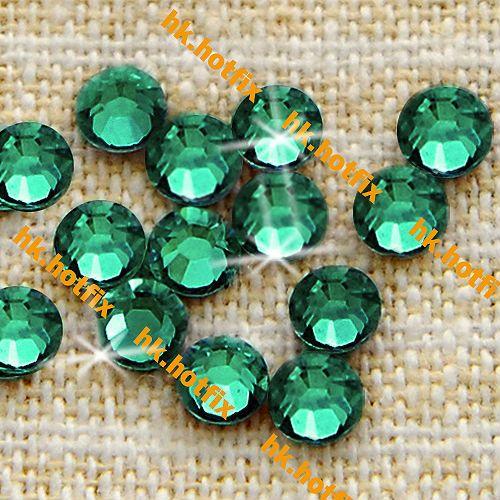 ПОДЛИННАЯ Swarovski Elements ss20 Изумруд (205) 720 шт. 20ss Железо на 5 мм Круглый Бриллиант Кристалл, прозрачный кристалл Исправление стразы