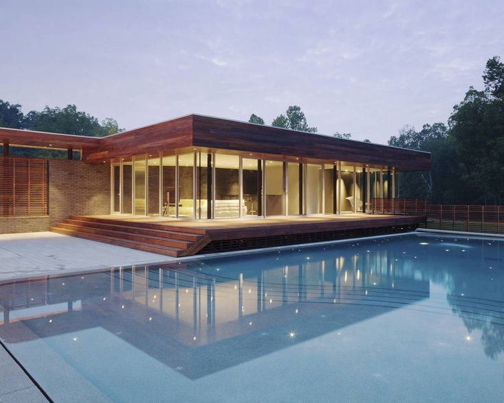 Curved House / Hufft Projects #pool