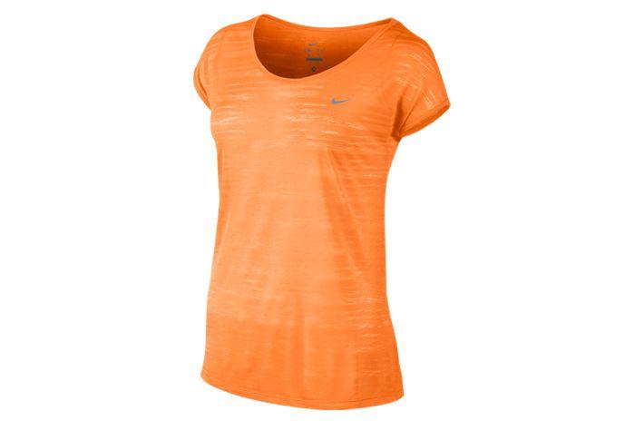#Nike Dri-FIT Cool Breeze - zwiewna i lekka, damska koszulka. Delikatne, przewiewne materiały gwarantują wysoki komfort noszenia koszulki. Świetnie sprawdzi się w czasie treningów biegowych czy to na zewnątrz, czy na sali gimnastycznej. #drifit #koszulka #jesienzima2015 #krotkierekawy