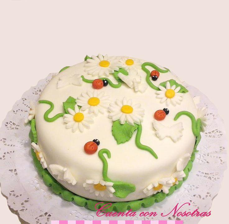 Torta Margaritas Torta Flores Flowers Cake