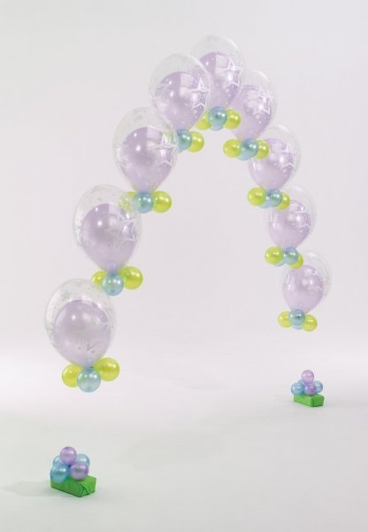 358 best images about balloon design on pinterest for Balloon string decorations
