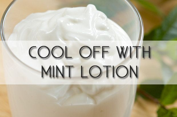 Beat the heat with mint lotion. To keep yourself cool without a pool, apply mint lotion. It's tingly and ticks your skin into feeling cooler. Make your own here. http://gi365.info/lifestyle/cooling-aloe-mint-body-lotion/   |   Beauty Tricks