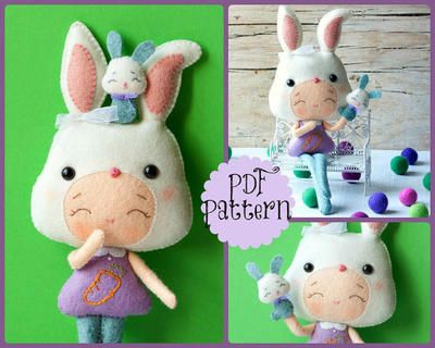 PDF. Bunny girl con marionetas