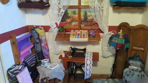 Sewing room made by me