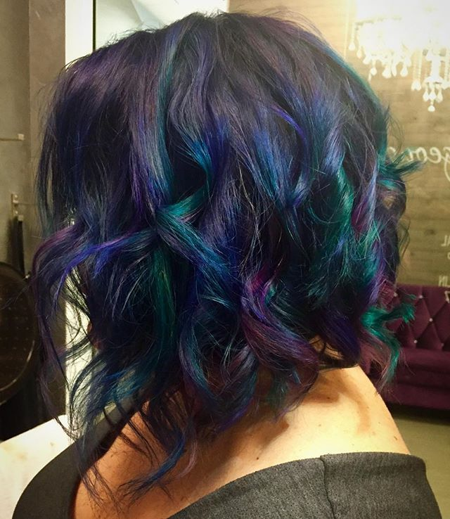 Colorful Hairstyles Amazing 37 Best Colorful Hairstyles Images On Pinterest  Short Hair Hair