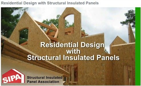 Residential Design with Structural Insulated Panels - Video Training | Structural Insulated Panel Association